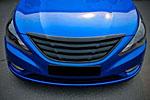 Решетка радиатора (гриль) для Hyundai Sonata 2010- (KAI, HYUNSON-GRSQ-01)