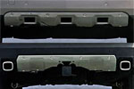 Накладки переднего и заднего бампера для Mercedes GL-Class 2006-2012 (Kindle, GL-B11-12)