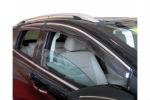 Ветровики (с хром вставкой) для Ford Kuga 2013+ (KINDLE, FK-V31)