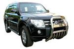 Защита переднего бампера (кенгурятник) Mitsubishi Pajero 2007- (Winbo, A126213)