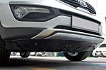 Накладка на передний бампер для Kia Sportage 2010- (Kindle, KSP-B06)