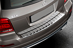 Накладка на задний бампер для Mercedes GLK-Class 2012+ (Kindle, GLK-P21)