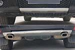 Накладка на передний и задний бампер для Mercedes GLK-Class 2012+ (Kindle, GLK-B21)