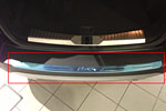 Накладка на задний бампер для Ford Kuga 2013+ (Kindle, FK-P33)
