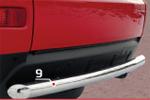 Защита задняя Mitsubishi Outlander XL 2006 d60 прямая (Союз-96, RSA-OXL-417)