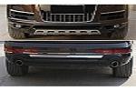 Накладки на передний и задний бамперы для Audi Q7 2012+ (Kindle, Q7-B23-24)