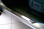 Накладки на внутренние пороги (нерж.) для Nissan X-Trail II (T31) 2007- (Nata-Niko, P-NI25)