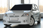 "Аэродинамический передний бампер ""DM"" Renault/Dacia Logan 2005- (AD-TUNING, BP.RDL.FB.01FG)"