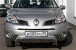 Решётка передняя Renault Koleos 2008 d 60 мини низкая с накладкой с надписью