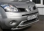 """Защита переднего бампера """"Renault Koleos"""" 2008- d 60/60 двойная (Союз-96, RENK.48.0727)"""