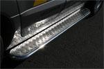 """Пороги c листом """"Renault Koleos"""" 2008- d 42 (компл 2шт) (Союз-96, RENK.82.0730)"""