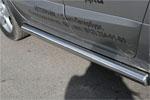 """Пороги труба """"Renault Koleos"""" 2008- d 76 (компл 2шт) (Союз-96, RENK.80.0731)"""