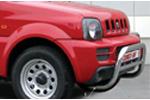 Решетка передняя Suzuki Jimny 2006- d 60 мини низкая (Союз-96, SUJM.56.0053)