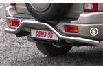 Защита задняя Suzuki Grand Vitara 2006- (3-х дверная) d 42 волна (Союз-96, SZGV.75.0348)