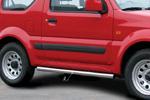 Пороги труба Suzuki Jimny 2006- d 60 (компл 2шт) (Союз-96, SUJM.80.0054)