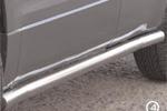 Пороги труба Suzuki Grand Vitara 2006- (3-х дверная) d 60 (компл 2шт) (Союз-96, SZGV.80.0346)