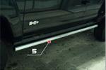 "Пороги труба ""Hummer H3"" d 60 (компл 2шт) (Союз-96, HUMH.80.0385)"