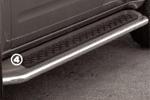 Защита штатных порогов Nissan Pathfinder 2008- d 42 (Союз-96, NPTF.86.0649)