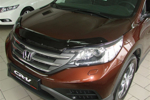 Дефлектор капота (мухобойка) Honda CR-V 2013- (EGR, 013081)