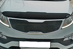 Дефлектор капота Kia Sportage 2010- (EGR, 018051L)