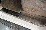 Накладки на внутренние пороги для Toyota Prado FJ150 2009-2013 (Kindle, TP-P02)