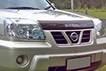 Дефлектор капота Nissan X-Trail 2001- (EGR, 027091L)