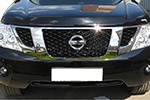 Дефлектор капота Nissan Patrol 2010- (EGR, 027221L)