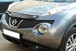 Дефлектор капота Nissan Juke 2010-(EGR, 027241L)