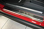 Накладки на пороги для Mercedes A Class (W169) 5D 2004- (Alu-Frost, 08-0501)