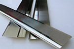 Накладки на пороги для Skoda Citigo 5D 2012- (Alu-Frost, 08-0571)