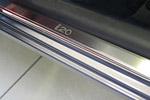 Накладки на пороги Hyundai i20 3D 2009- (Alu-Frost, 08-0675)