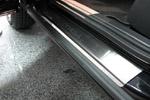 Накладки на пороги Opel Corsa C 5D 2000-2006 (Alu-Frost,08-0909)