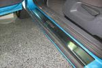 Накладки на пороги Opel Corsa D 3D 2006- (Alu-Frost, 08-0925)