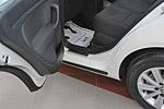Накладки на пороги Volkswagen Golf V Plus / VI Plus 2004-2008 / 2009- (Alu-Frost, 08-0953)