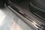 Накладки на пороги для Ford Mondeo  II/III 1996-2000 / 2000-2007 (Alu-Frost, 08-1215)