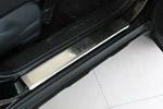 Накладки на пороги Honda CR-V II 2001-2007 (Alu-Frost, 08-1309)