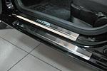 Накладки на пороги для Seat Ibiza IV 3D 2008- (Alu-Frost, 08-1425)