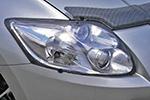 Защита фар Toyota Auris hb 2007- (EGR, 1058CF)