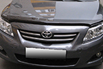 Дефлектор капота Toyota Corolla 2007- (EGR, SG1059DSL)