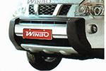 Накладка на передний бампер для Nissan X-Trail 2007- (Winbo, A114599A0)
