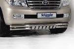 Защита передняя Toyota LC 200 (schiessler, 1201VA)