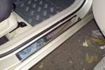 Накладки на пороги Hyundai Accent (HACC13)