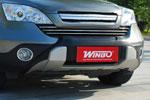 Накладка переднего бампера HONDA CRV 07- (Winbo, K150604)