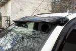 Козырек на лобовое стекло для Mitsubishi Pajero Sport 2008+ (LASSCAR, 1LS 030 920-181)