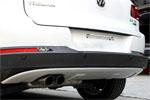 Накладка на задний бампер для VW Tiguan 2011-2015 (Kindle, TG-B32)