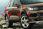 Расширители колесных арок для VW Touareg 2011+ (Kindle, TR-W12)