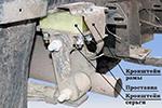 Комплект проставок H20 КПР-04 рессорных подвесок УАЗ-469 (ТоргСервис, h20Knp-04-UAZ469)
