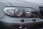 Защита фар BMW X5 2004- (EGR, 210020)