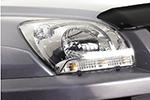 Защита фар Kia Sportage 2005- (EGR, 218030)