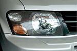 Защита фар Mitsubishi Pajero 2000- (EGR, 226100CF)